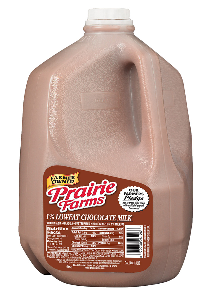 1 gallon chocolate milk